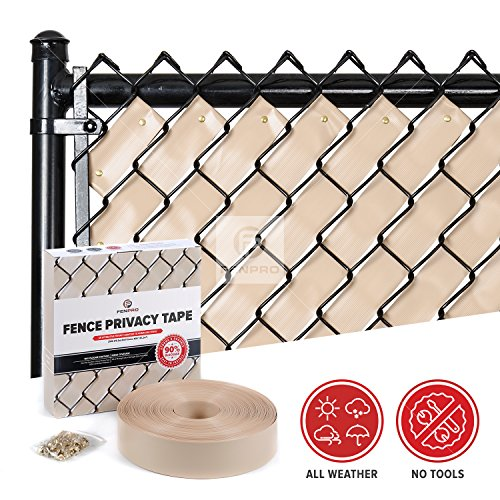 Fenpro Chain Link Fence Privacy Tape (Desert (Chain Link Cover)