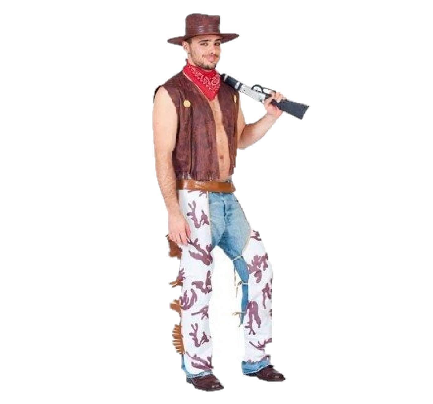 Fyasa 701976-t04 disfraz de vaquero, grande: Amazon.es: Juguetes y ...