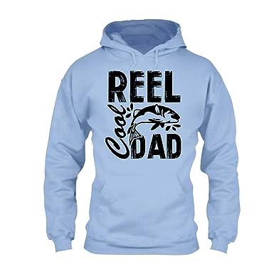 cf8015351 Are Black Fishing Reel Cool Dad Unisex Hoodies, Long Sleeve Hoodie Blue,S