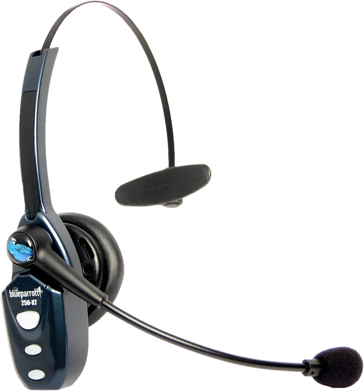 BlueParrott 204123 B250-XT 85 Percent Noise Canceling Bluetooth Headset,Black