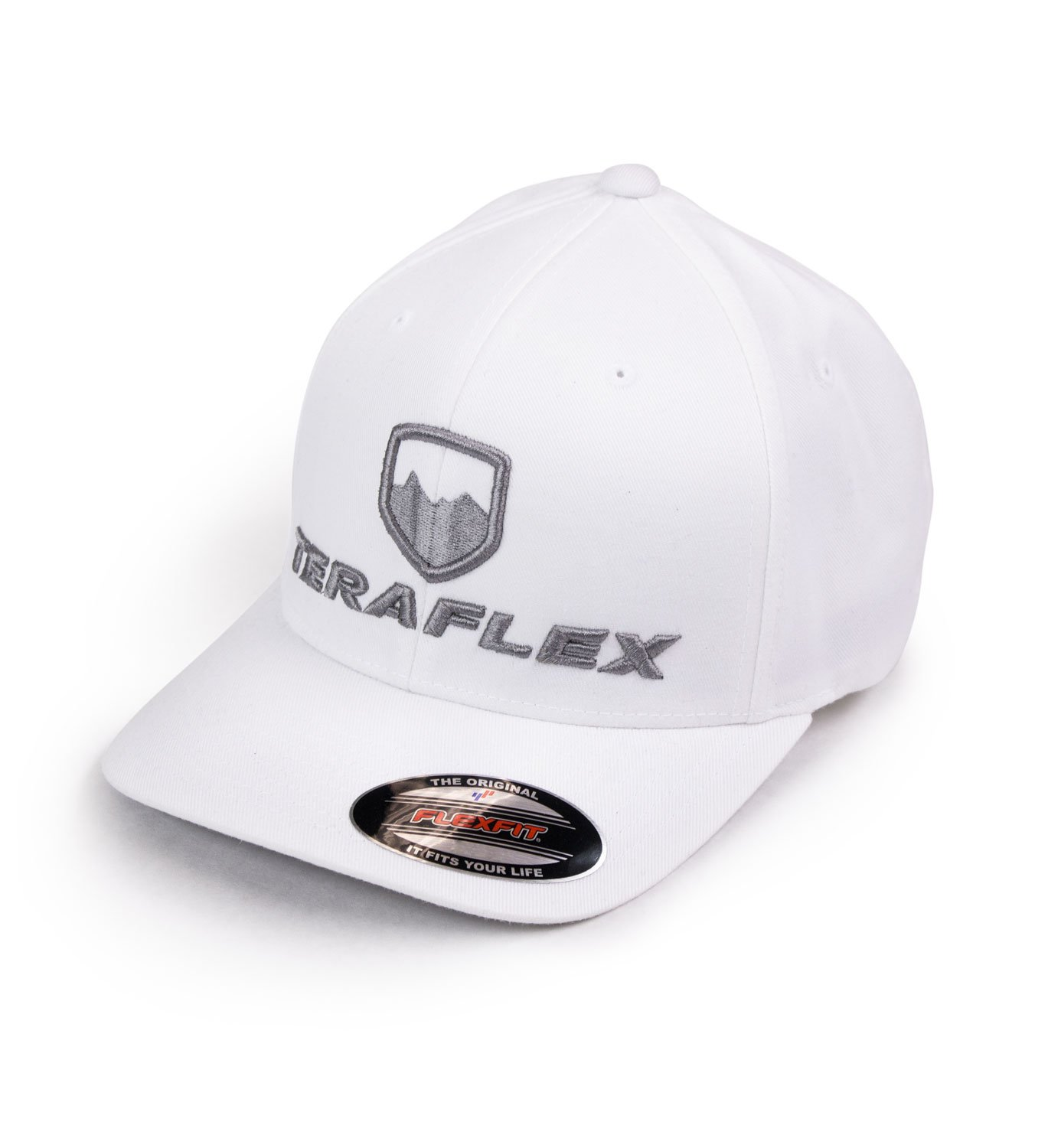 Premium Flexfit White, Small//Medium Teraflex 5237018 Hat