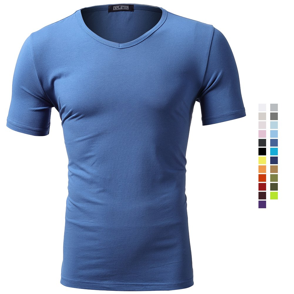 481e71f9b 24 different color, refer to image. Imported ▽ELASTIC MATERIALS ▽-93.5%  Combed Cotton , 6.5% Spandex ,Effective placement of wrinkles, washing 20  times ...