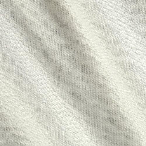 Robert Kaufman Kaufman Brussels Washer Linen Blend PFD White Fabric by The Yard, PFD