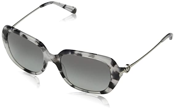81fd09b613 Image Unavailable. Image not available for. Color  Michael Kors MK2065  335211 Grey Tort Rectangle Sunglasses for