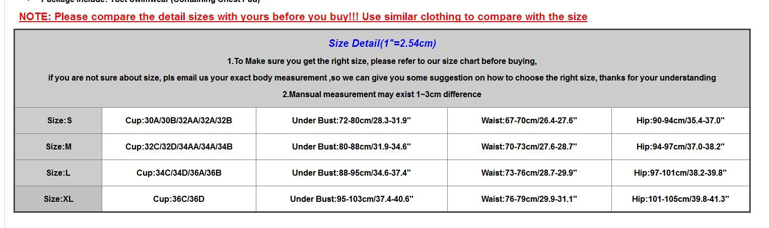 Women Swim Short Top High-Waisted Bikini Set Push-Up Swimsuit Bathing Workout Outdoor Track Suit Black by chuxin huang (Image #5)