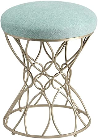 Simple Dressing Tabouret Gris Noir Et Blanc Chaise De