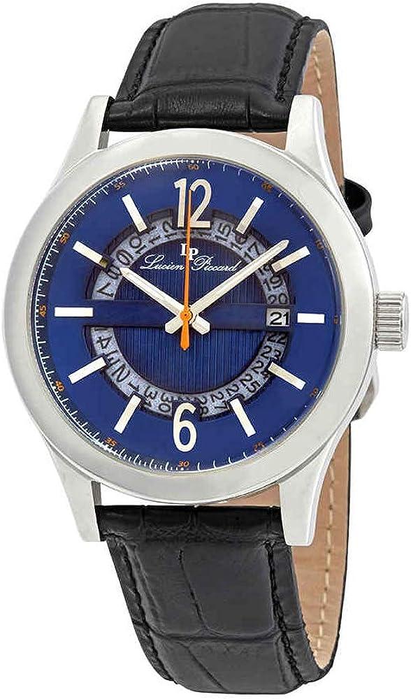 Lucien Piccard Men s LP-40020-03 Oxford Analog Display Quartz Black Watch