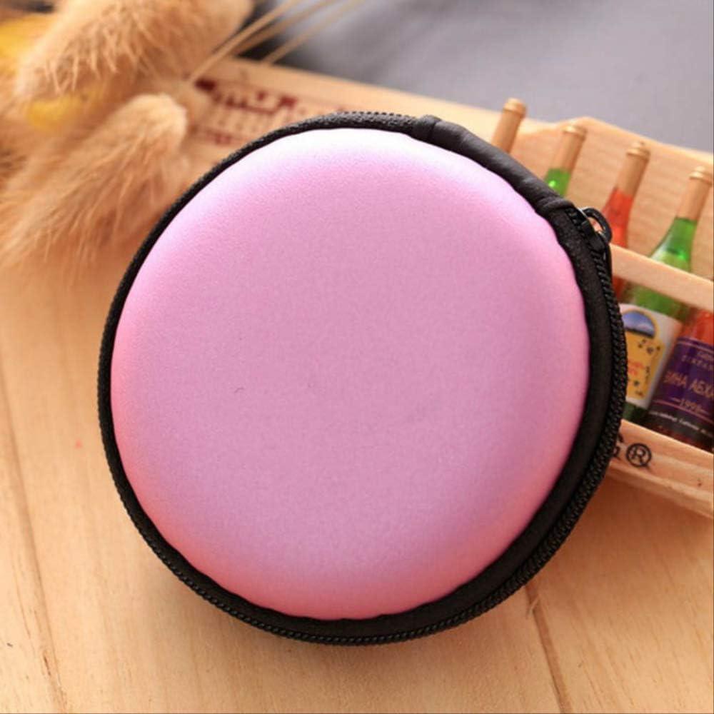 Paquete Hyin USB Cable Organizador Auricular Caso Mano Spinner Caja De Auriculares Portátiles Rosa: Amazon.es: Electrónica