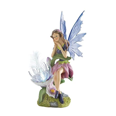 Genial Amazon.com : Solar Lights Outdoor Statues, Fairy Figurines Fairies Small  Solar Statue : Garden U0026 Outdoor