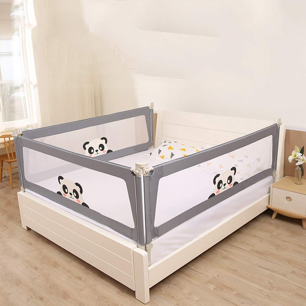 SONGTING Guardrail Kids Safety Bed Rail Baby Bed Rail Foldable Easy Fit Safety Portable Foldable Bed Rail Bed Guard Protection Safety Infant Child by SONGTING Guardrail (Image #6)