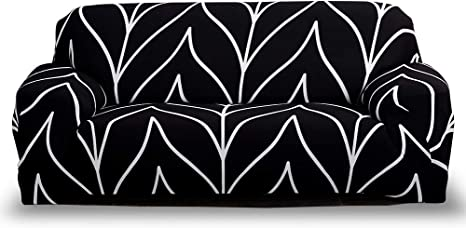 Image of HOTNIU Funda Elástica de Sofá Funda Estampada para sofá Antideslizante Protector Cubierta de Muebles (Fundas para Cojines, Modelo_hsgd)