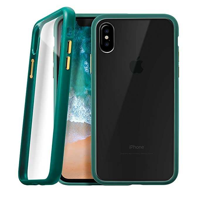 size 40 7c941 44ed3 Amazon.com: LAUT - Accents for iPhone X Case with 2H Anti-Scratch ...