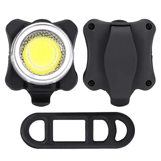 luz Trasera para Bicicleta Gaocunh Recargable por USB 4 Modos de luz Luz Trasera LED para Bicicleta