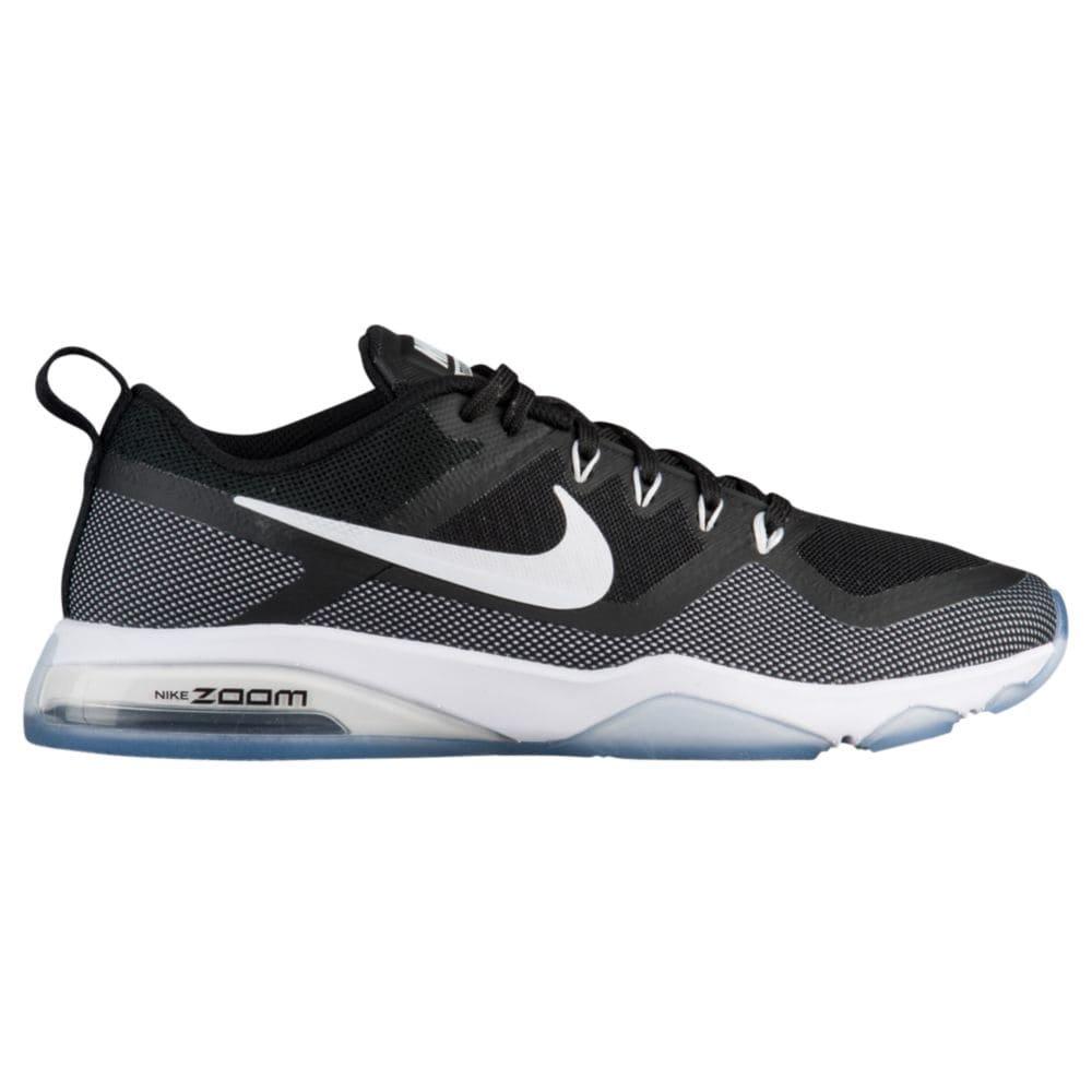 Nike WMNS Air Zoom, Chaussures de Fitness Femme, Noir Noir Femme, (Black/White 001), 40.5 EU - B01N1UQQ9K - Fitness c2996a