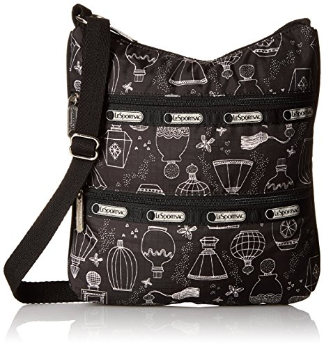 Kylie Sweet (LeSportsac Kylie Cross Body Bag, Sweet Essence Black, One Size)