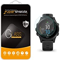 (2 Pack) Supershieldz for Garmin Forerunner 945 Tempered Glass Screen Protector, Anti Scratch, Bubble Free