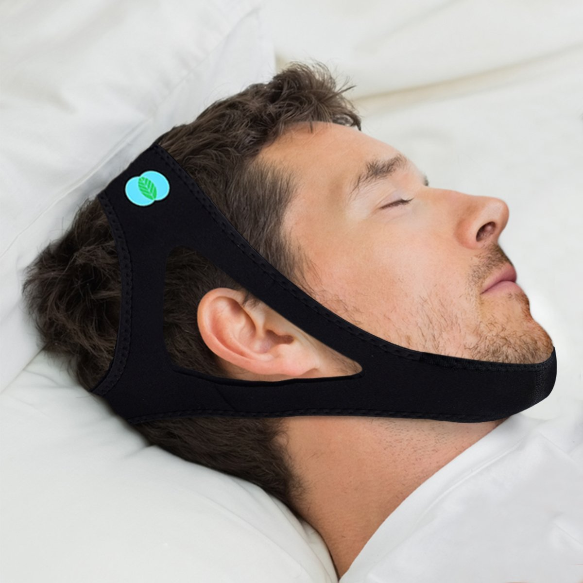 Anti Snoring Chin Strap for Adults (for Medium and Large Heads)