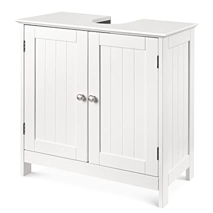 Enjoyable Homfa Bathroom Under Sink Vanity Cabinet Multipurpose Home Interior And Landscaping Palasignezvosmurscom