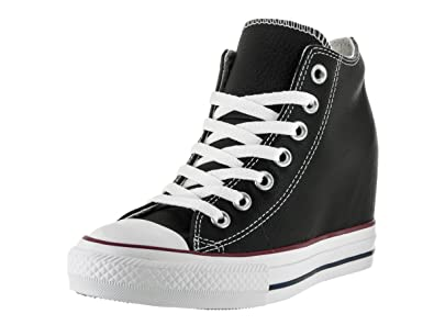 Converse CTAS Mid Lux, Baskets Hautes Femme, Noir (Black