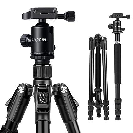 K&F Concept TM2534 Kit Trípode Flexible Cámara Reflex Extensible ...
