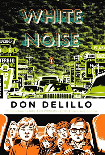 Book cover from White Noise by Don DeLillo