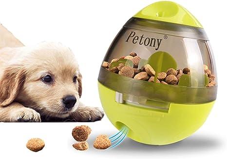 Petony Pelota de Comida para Perro, dispensador de Alimentos ...