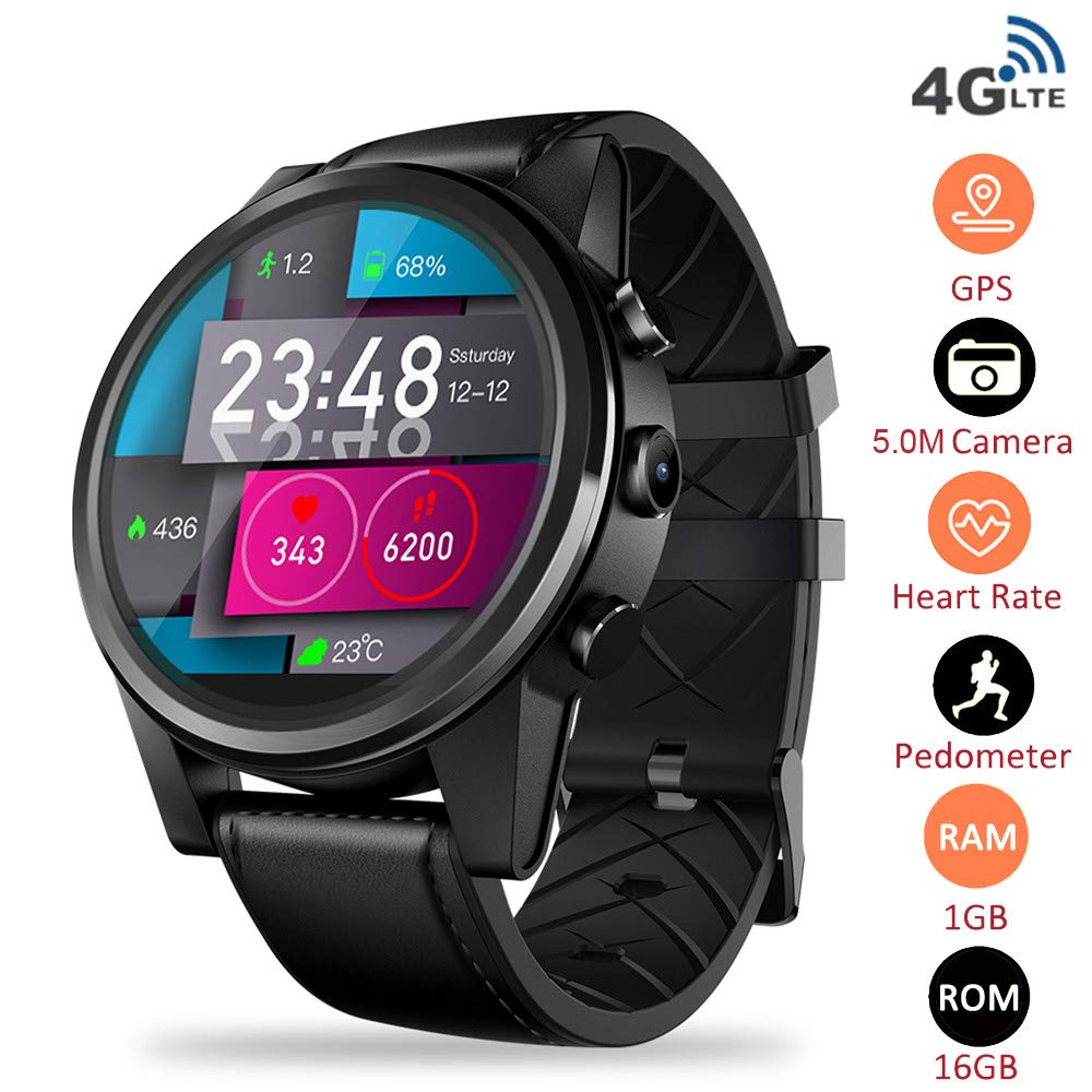 Four Reloj Inteligente Android 1GB + 16GB 4G Red SmartWatch ...