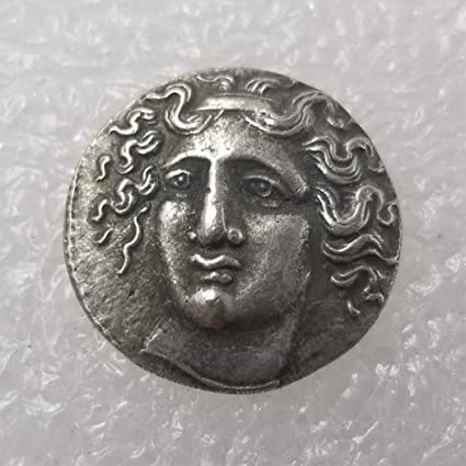 Uncirculated//Collectable condition BestShop YunBest Ancient Old Greek Coin Commemorative Coins Greek goddess Greek Mythology Collectible Uncirculated Coin