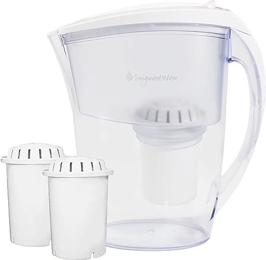 Ionizador de agua alcalina pH Refresh (2 filtros de larga duración ...