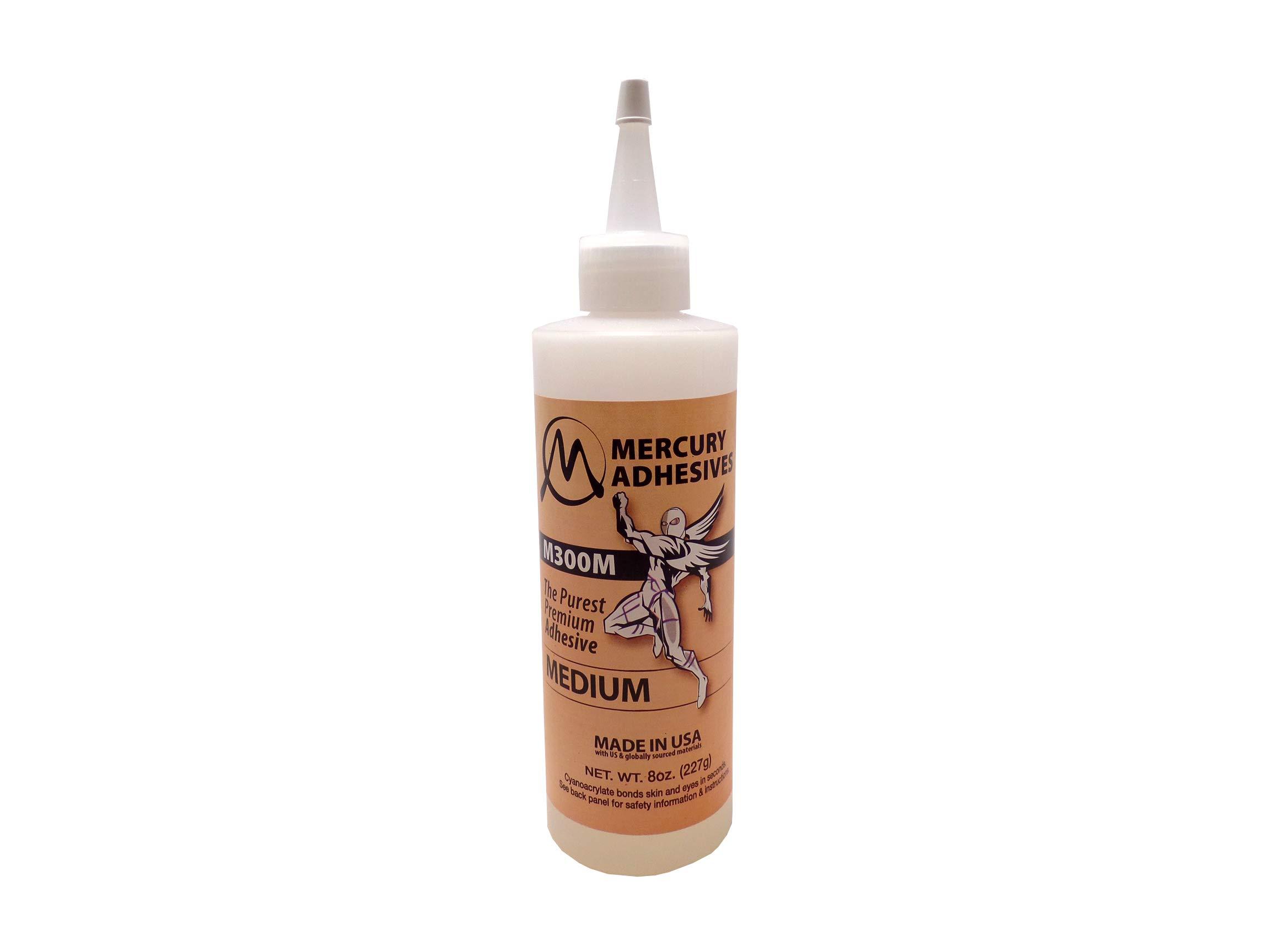 Mercury Adhesives M300M 8oz (medium CA)