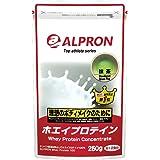 アルプロン ホエイプロテイン100 250g【約12食】抹茶風味(WPC ALPRON 国内生産)