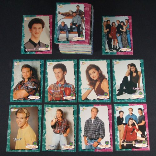 1994 Pacific Saved by the Bell The College Years Trading Card Set (110) Nm/Mt