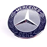 Mercedes W114 W115 Radiator Grill Hood Star Emblem Kit 1155860488 Genuine NOS