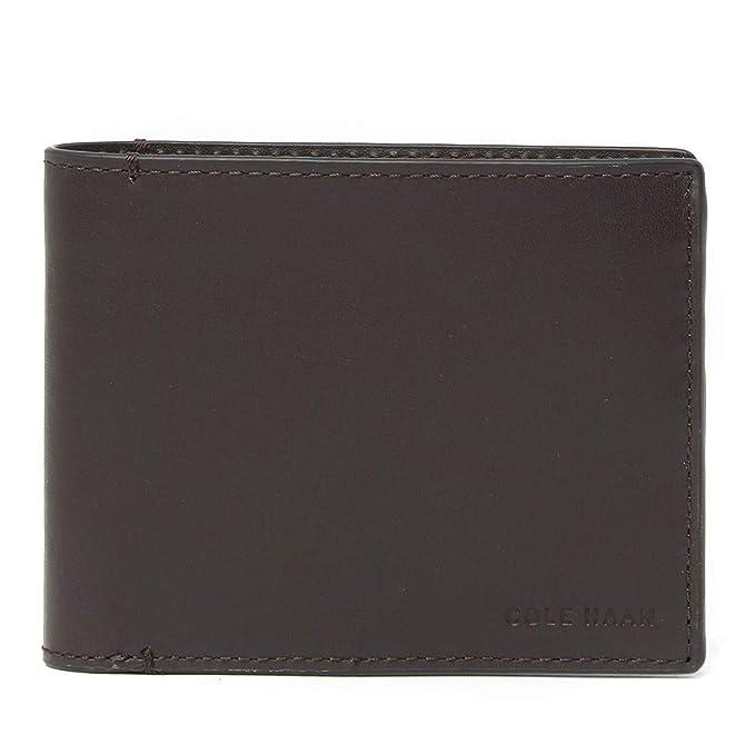7de27163cd14 Cole Haan Men's Smooth Leather Bifold Wallet (Brown) at Amazon Men's ...