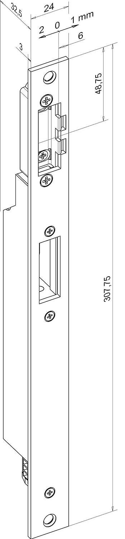 Abrepuertas lineal Assa Abloy effeff 65 31A35E91 Mediator