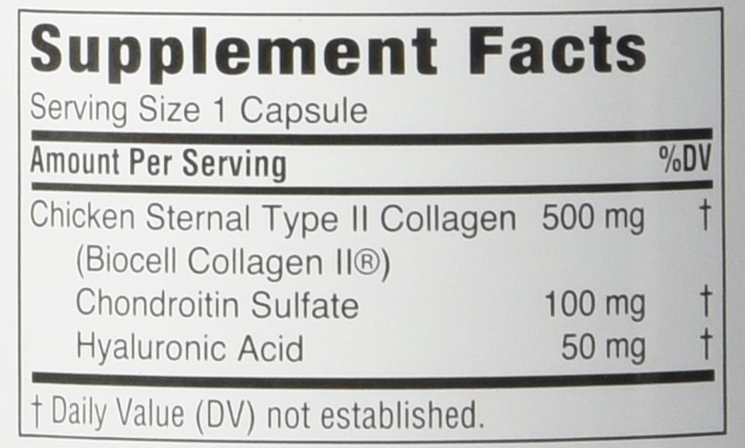Twinlab MaxiLife Collagen Type II with Hyaluronic Acid, 60 Capsules by Twinlab (Image #2)