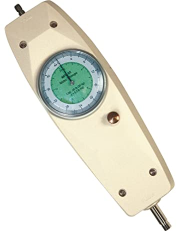 Shimpo MFD-03 Dual Scale Mechanical Force Gauge, Live and Peak Load Modes,