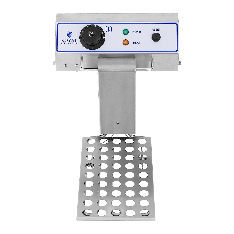 Royal Catering Freidora Electrica Profesional Doble RCEF 15D (2 x 17 L, 3.000 W, Termostato, Rango de temperatura 60-200 °C, Acero inoxidable): Amazon.es: ...