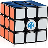 D-FantiX Gans 356 Air Master 3x3 Speed Cube, Gan 356 Air 3x3x3 Speed Cube Magic Cube Puzzles Black with New Blue Cores
