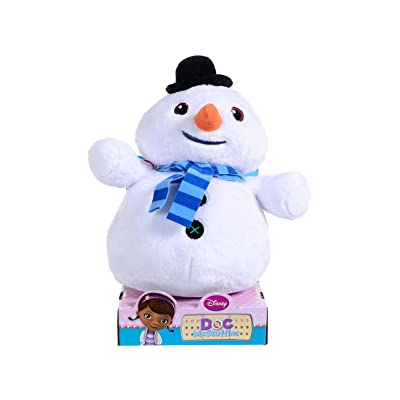 "Doc Mcstuffins - Chilly Stylised Plush - 10"" Figure: Toys & Games"