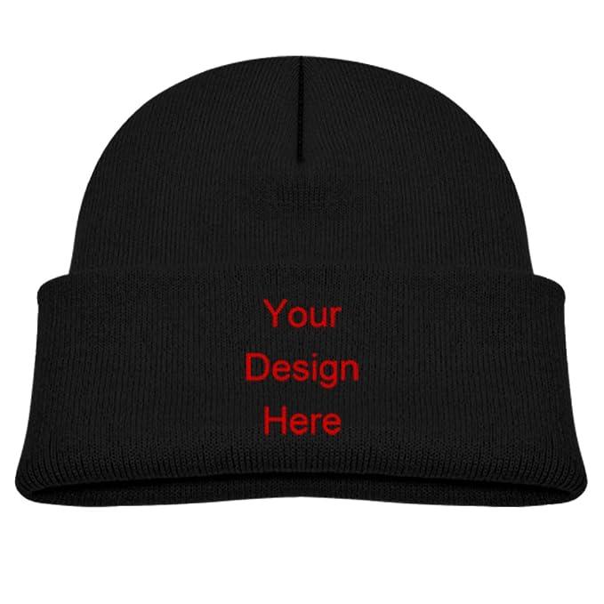 ee34618f0b8b6 Custom Printed Hats Personalized Baby Hats Knit Beanie Hat Designer Beanie  Hats Kids Winter Hats Kids