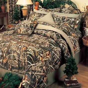 Amazon Com Realtree All Purpose Comforter Set Queen