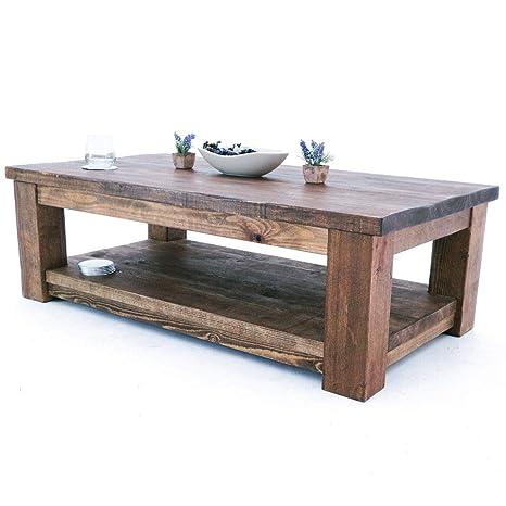 Funky Chunky Furniture Rustic Solid Wood Coleridge Coffee Table