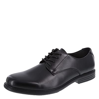 Hunter's Bay Black Men's Mike Oxfords 10.5 Regular | Oxfords