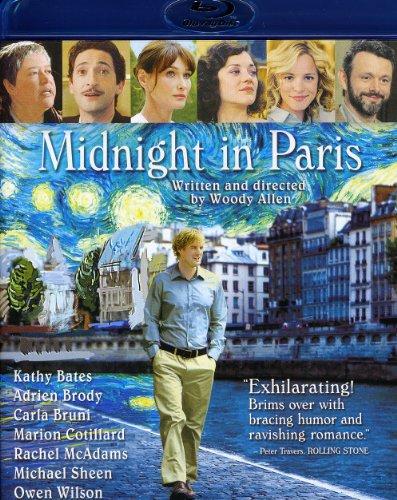 Midnight In Paris - Wilson, Mcadams, Bates, Brody Blu-ray
