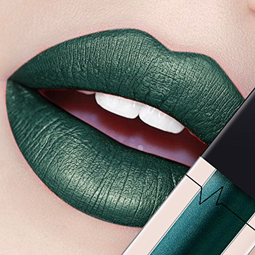 Lipstick, Misaky Classy Intensity Long Lasting Waterproof Diamond Metal Lip Gloss Liquid Lip (# B)