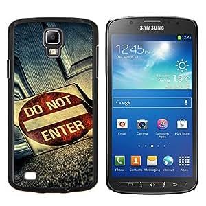 Caucho caso de Shell duro de la cubierta de accesorios de protección BY RAYDREAMMM - Samsung Galaxy S4 Active i9295 - No incorpore Grunge sesión