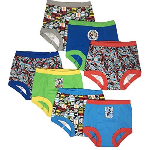 Training Pack Pants 3 (Mattel Toddler Boys' Thomas The Tank Engine 7 Pack Training Pants, Thomas Assorted, 4T)