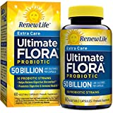 Renew Life - Ultimate Flora Probiotic Extra Care - 50 billion - daily digestive and immune health supplement - 60 vegetable capsules