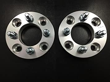 Wheel Spacers 2Pcs Aluminum Alloy 4 and 5 Lug 3//5 8//10 12mm Thickness Universal Wheel Spacers